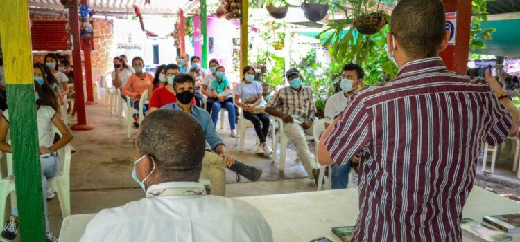 En Santa Marta, 40 líderes de Tigrera fueron sensibilizados con taller de educación ambiental