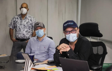 Alcalde de Villavicencio socializó ante los propietarios del polígono los avances del proyecto de renovación urbana 'arpa de aguas'