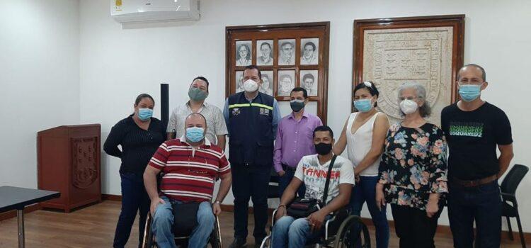 Elegidos los nuevos representantes de la sociedad civil ante el comité municipal de discapacidad de Cúcuta