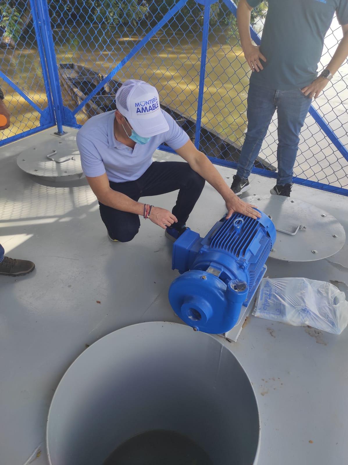 El próximo mes inician pruebas para operación del acueducto de San Isidro y San Anterito en Montería