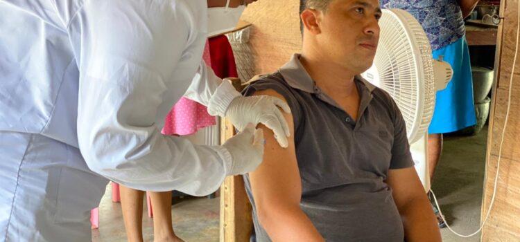 Más  de 1.400 vacunas contra Covid-19 llegan al corregimiento de Santa Lucía, en Montería