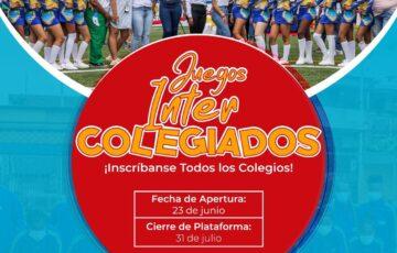 Hasta el 31 de julio están abiertas las inscripciones para los juegos 'Supérate Intercolegiados' 2021 en Quibdó