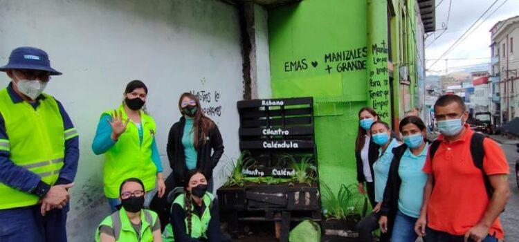 Alcaldía de Manizales recuperó punto crítico de residuos sólidos en el centro de la ciudad