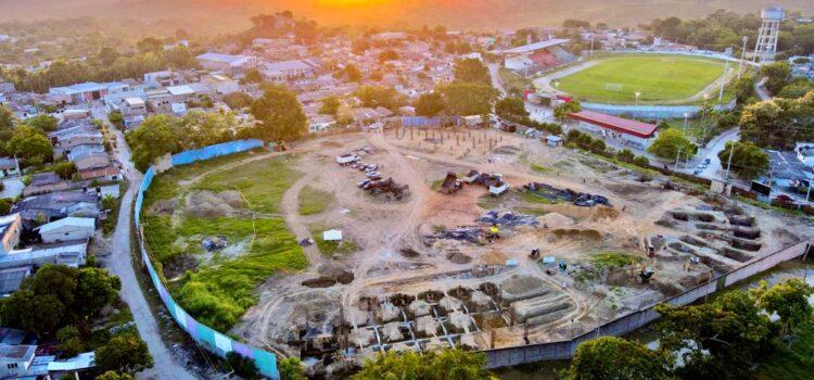 Avanza construcción de estadio de béisbol de Sincelejo