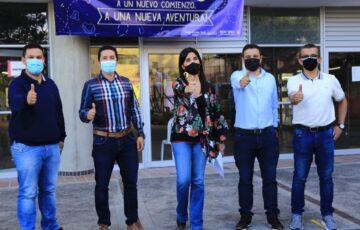 Con todas las medidas de bioseguridad, en Rionegro los estudiantes vuelven de manera presencial a sus colegios