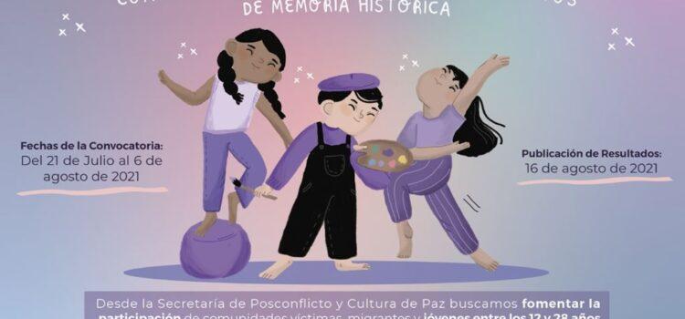 4 iniciativas de jóvenes sobre memoria histórica serán apoyadas por la Alcaldía de Cúcuta