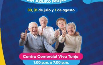 Primera Feria del Adulto Mayor en Tunja