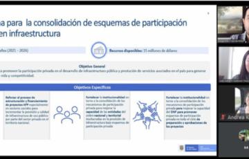 Exitosa capacitación sobre Asociaciones Público Privadas APP