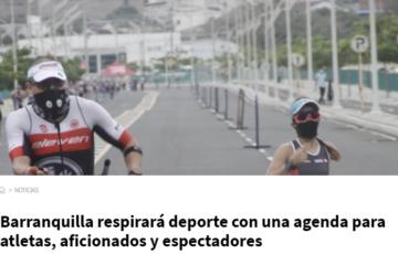 Barranquilla respirará deporte con una agenda para atletas, aficionados y espectadores