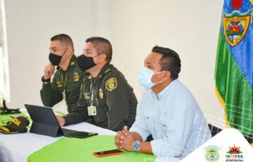 Alcalde de Inírida lidera Consejo de seguridad