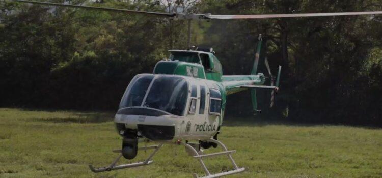 Cuadrante aéreo vigila y garantiza la seguridad en Bucaramanga