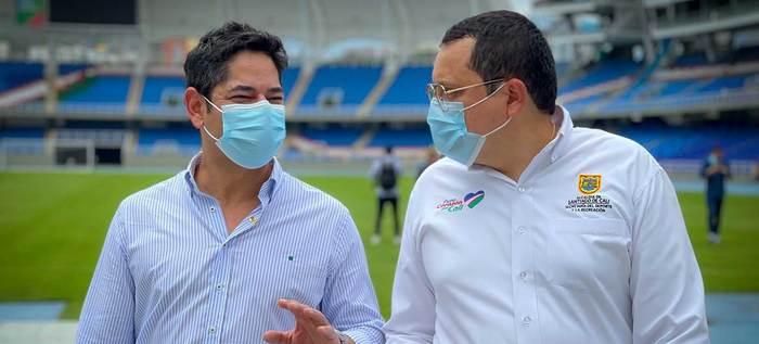 Cali Ciudad Deportiva recibió la visita de Guillermo Herrera, ministro del Deporte