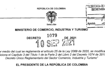 DECRETO1079 DEL 10 DE SEPTIEMBRE DE 2021