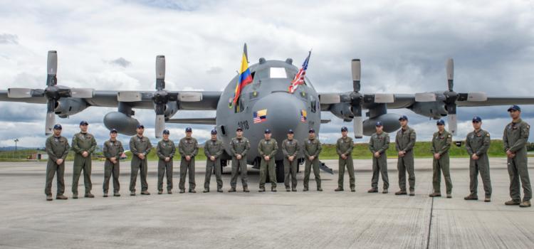 Transferencia de dos aviones C-130 Hércules de EEUU, fortalecerá Fuerza Aérea colombiana