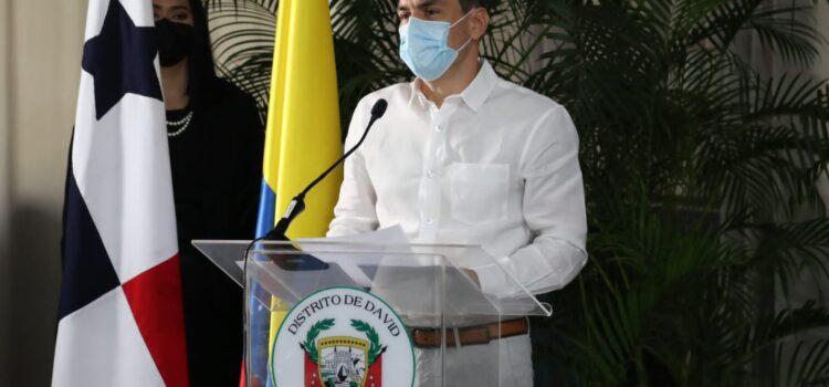 En el distrito de David, Panamá, Montería firma su primer hermanamiento con David, la ciudad más industrializada de Panamá