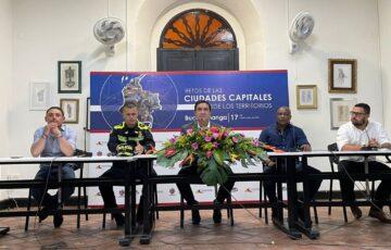 """""""La unión hace la fuerza"""": llamado de alcaldes de las ciudades capitales frente a creciente inseguridad en el país"""