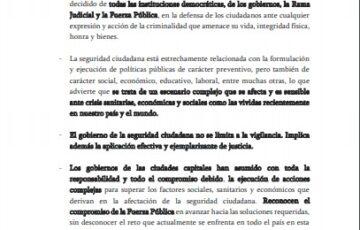 Asocapitales informa a la opinión pública:
