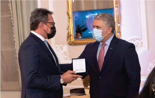 Fundación Festival de la Leyenda Vallenata recibe Orden de Boyacá